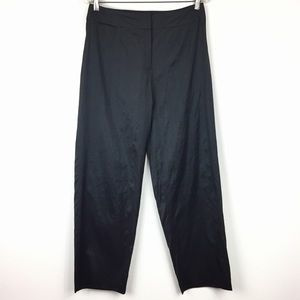 Eileen Fisher Silk Wide Leg Pants